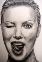 Charlize Theron by M--Art