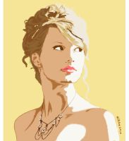 Taylor Swift Golden by alme20