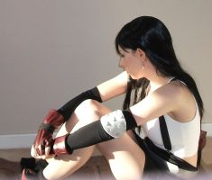tifa trying to look cute by J-PO