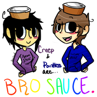 Official bro sauce. by ThatCreeperNextDoor
