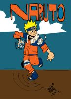 Naruto:Colour by Enef