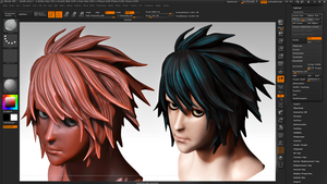 L (DEATH NOTE) wip by tetsuok9999
