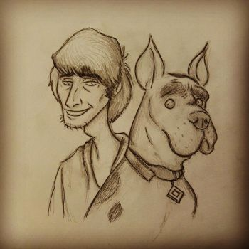 A Stoner and his Dog by RoninKai