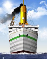 HMHS BRITANNIC by ERIC-ARTS-inc