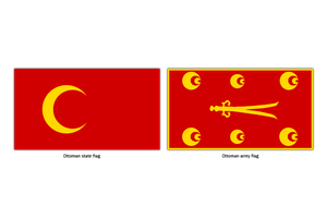 Ottoman flags by AY-Deezy