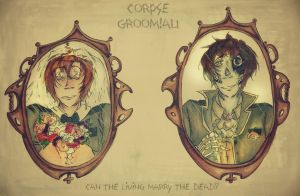 [Corpse Groom AU] Can the Living Marry the Dead?! by edwardsuoh13