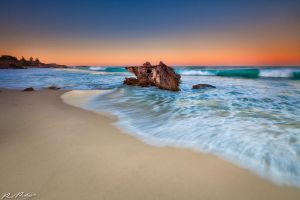 Bennion Beach Dawn by paulmp