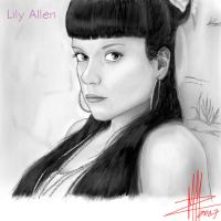 Lily Allen 02 by Basaran00