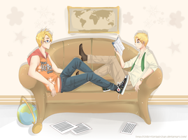 APH - Lazy Afternoon by chibi-rice-ball-chan