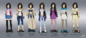 Alex Outfits by SubduedMoon