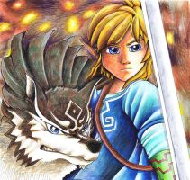 Fight Togehter  LoZ - Breath of the Wild by J-Ssi
