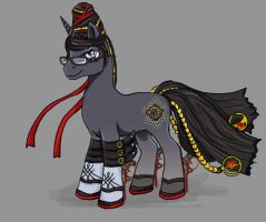 Bayonetta pony by chaos-dark-lord