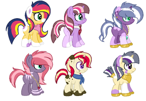 CMSF - Sunset Shimmer x Twilight Sparkle [CLOSED] by Pikadopts