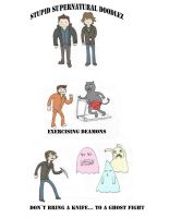 Stupid Supernatural Doodlez by IronicChoice