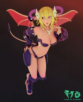 Succubus Pose by Magna-omega