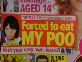 Forced To Eat My Own Poo by NicotineStainedSoul