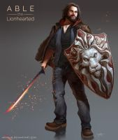 Able the Lionhearted by arvalis