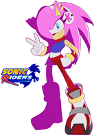 Sonic Riders Kira The Hedgehog by Caro-KiraxDarkSonic