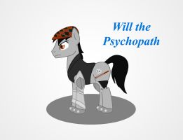 MLP: Will the Psychopath by Redtriangle