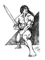another barbarian by TheRealClappy