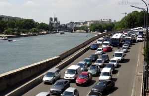 City traffic and view by EUtouring