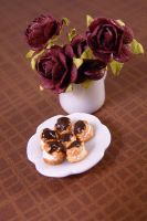 Miniature Profiteroles by nyann