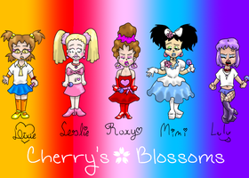 Cherry's Blossoms by leila-stoat