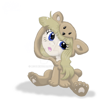 Project PPC: OC MissionBelle Cute2 -color- by mscherbear