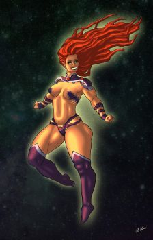 STARFIRE NEW52 by THOR16000