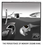 Persistence of Memory 512MB RAM by TorturedJelly
