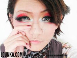 [Draft] Makeup Series - Colour: Red by Jounka