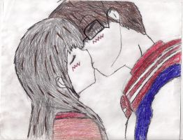 Anime Collage Kiss by xMischief