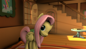 Fluttershy's cottage by CyaMan