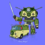 If They Could Transform - Party Wagon by darrenrawlings