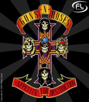 Guns N' Roses by felipelessa