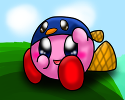 Kirby - Platypus by SkyWarriorKirby