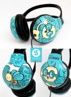 Bee Headphones by Bobsmade
