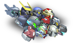 Mecha Heads by TurinuZ