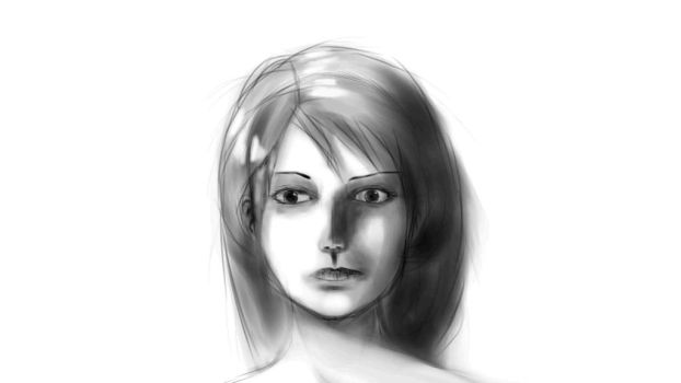Random Realistic Ish Face by Makuo