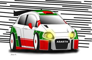 Punto Abarth S2000 (coloured) by Carbon93