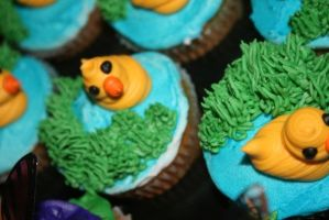 Duck Pond Cupcake by TheShiftyAdvisor