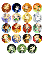- Agape - Chibi greek gods - by ooneithoo