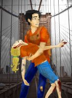 Percabeth Invulnerable-Colored by UnobstructedView