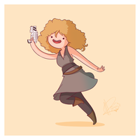 River Song Adventure Time and Space by Blizarro