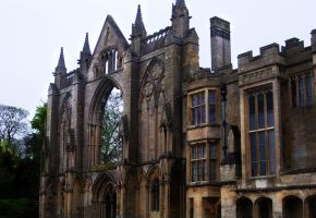 Newstead Abbey Front by incandescent-smile