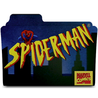 Spider-man serie tv animation folder icon by AnxoX