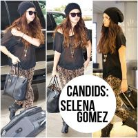 Candids: Selena Gomez by GhostOfLoveEditions