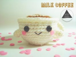 Milk Coffee Cup FREE PATTERN by NVkatherine
