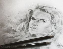 Hermione Granger - Sketch by Michelle-Winer