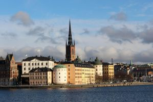 Stockholm water front by Sipramiili
